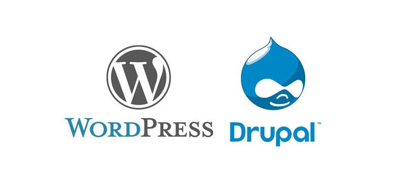 CMS-Drupal/WordPress
